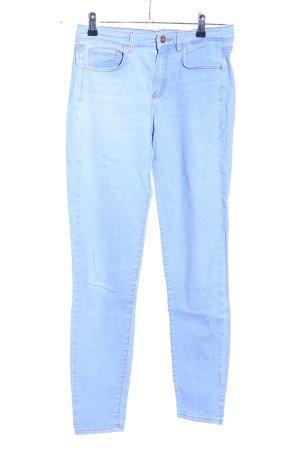 Massimo Dutti Slim Jeans blau Casual-Look