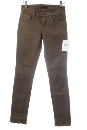 Massimo Dutti Slim Jeans grüngrau klassischer Stil