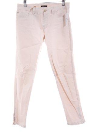 Massimo Dutti Slim Jeans rosé Casual-Look