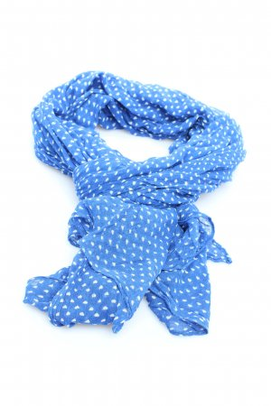 Massimo Dutti Summer Scarf blue-white graphic pattern casual look