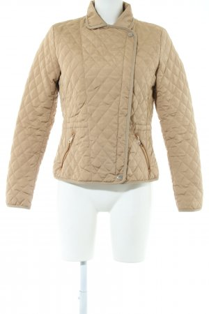 Massimo Dutti Steppjacke wollweiß Steppmuster Casual-Look