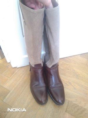 Massimo Dutti Winter Boots bronze-colored-dark brown
