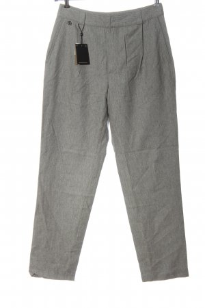 Massimo Dutti Jersey Pants light grey flecked casual look
