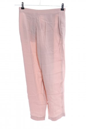 Massimo Dutti Stoffhose pink Business-Look