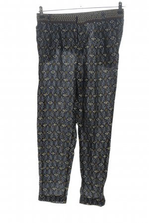 Massimo Dutti Jersey Pants allover print casual look