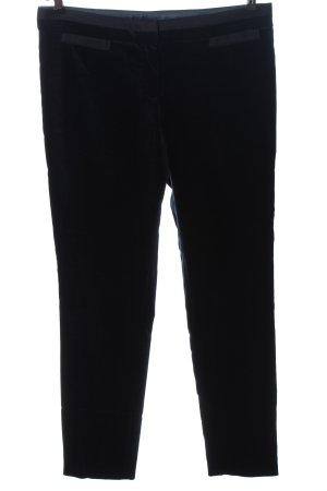 Massimo Dutti Jersey Pants black striped pattern casual look
