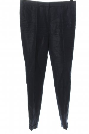 Massimo Dutti Stoffhose blau Elegant