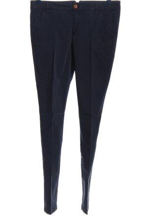 Massimo Dutti Stoffhose blau Casual-Look