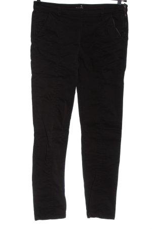 Massimo Dutti Jersey Pants black business style