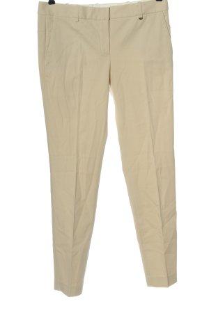 Massimo Dutti Jersey Pants cream casual look
