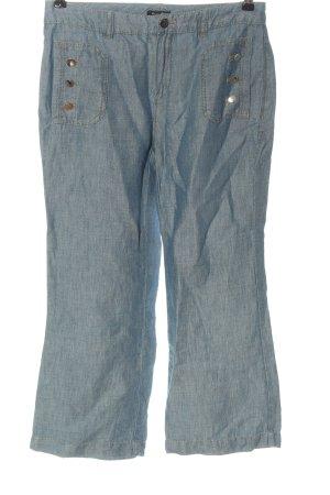 Massimo Dutti Jeansy z prostymi nogawkami niebieski W stylu casual