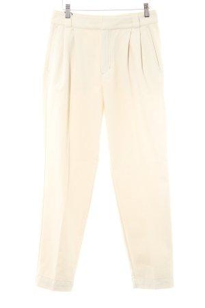 Massimo Dutti Straight-Leg Jeans hellgelb Casual-Look
