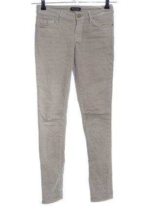Massimo Dutti Stretch Jeans khaki Casual-Look