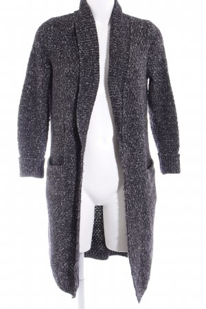 Massimo Dutti Strick Cardigan schwarz-weiß Casual-Look