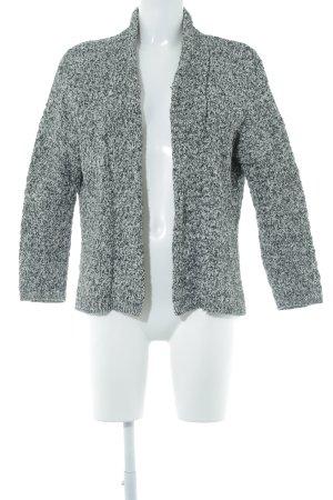 Massimo Dutti Strickjacke schwarz-weiß meliert Casual-Look