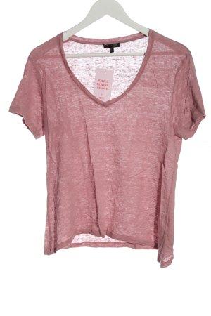 Massimo Dutti Strickshirt pink Casual-Look