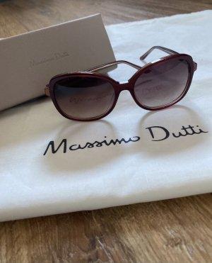 Massimo Dutti Glasses bordeaux