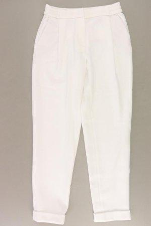 Massimo Dutti Sweathose Größe 36 weiß aus Polyester