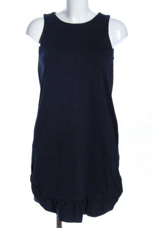 Massimo Dutti Sweatkleid blau Business-Look
