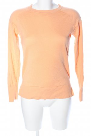 Massimo Dutti Sweatshirt hellorange Casual-Look
