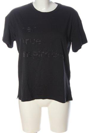 Massimo Dutti T-Shirt hellgrau Casual-Look
