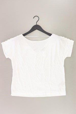 Massimo Dutti T-shirt blanc cassé coton