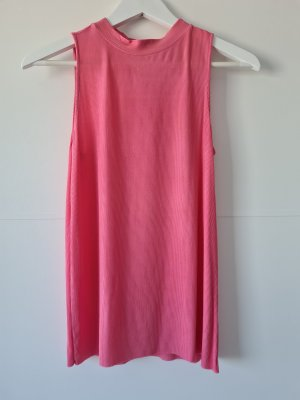 MASSIMO DUTTI Top, pink, Gr.S