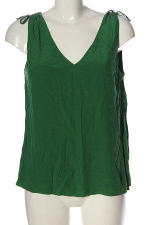 Massimo Dutti Trägertop grün Casual-Look