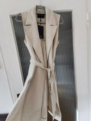 Massimo Dutti Trench Coat cream-beige