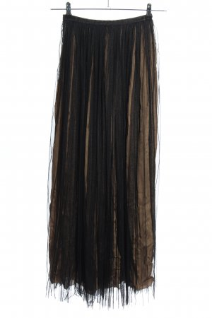 Massimo Dutti Tulle Skirt black-brown casual look
