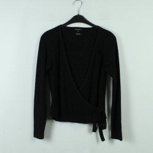 Massimo Dutti Cache-cœur en tricot noir