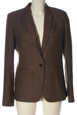 Massimo Dutti Wollen blazer bruin zakelijke stijl