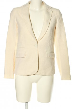 Massimo Dutti Woll-Blazer wollweiß Business-Look
