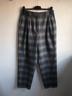 Massimo Dutti Pantalon en laine gris-brun foncé