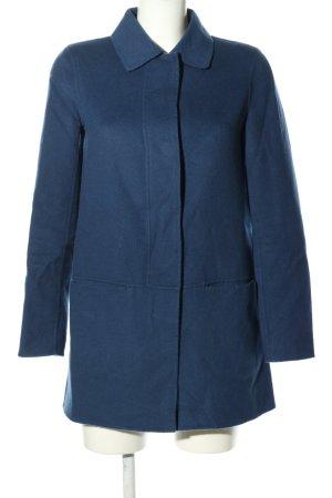 Massimo Dutti Wollen jas blauw casual uitstraling