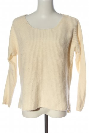 Massimo Dutti Wollpullover creme Webmuster Casual-Look