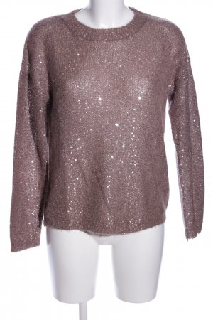 Massimo Dutti Wollpullover pink Casual-Look
