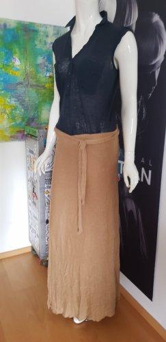 Rich & Royal Falda cruzada marrón claro-azul oscuro