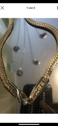 Massive collier mit Steine 45 cm wie neu
