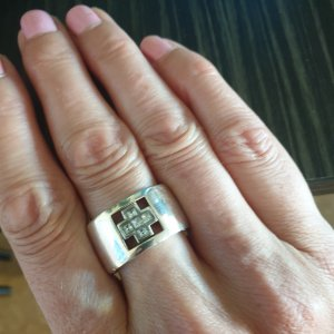 Massive Ring von Jette Silber 925