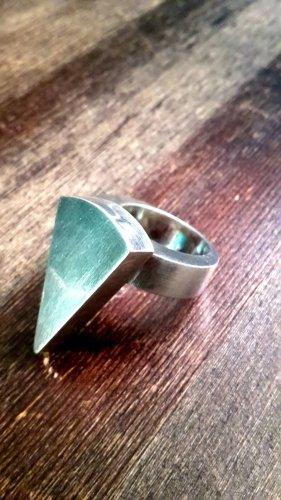 Massiver 925 Silber Ring