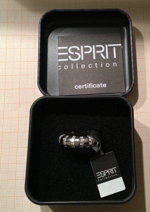 Massiver Echt Silber Ring mit Zirkonia von Esprit Collection Größe 18