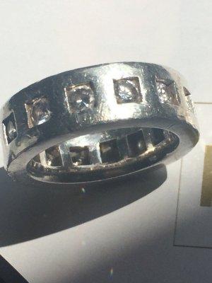 Massiver ring mit Zirkonia von Esprit