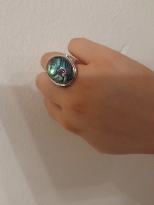 Statement ring veelkleurig