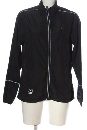 Master Outdoorjacke schwarz-weiß Casual-Look
