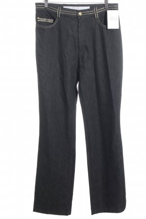 Masters High Waist Jeans dunkelblau Jeans-Optik