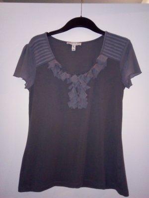 MATEN GILZER T-Shirt Oberteil 36 38 Grau