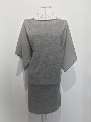 Materialmix Kleid