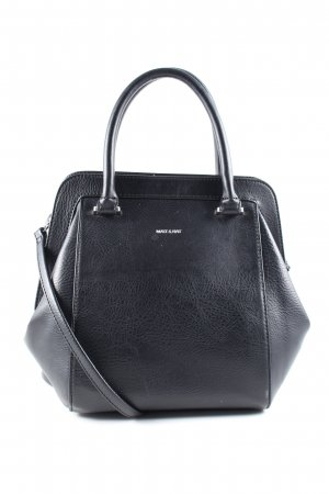 Matt & Nat Handtasche schwarz Business-Look