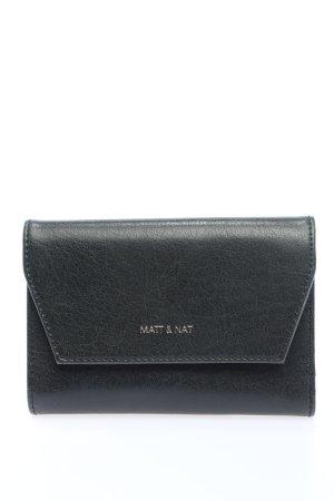 Matt & Nat Custodie portacarte nero stile casual